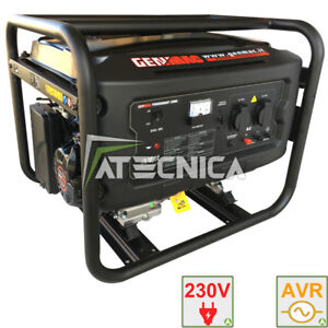 Gruppe Generator 4 Kw Genmac 4000 Generator Strom Rato Avr Stabilisiert