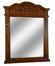 "40"" Traditional Style Arched  Mirror Vanity Bathroom Wood MR2815TK"