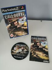 Call of Duty 2: The Big Red One (PS2) Playstation 2 Game - COD 2 - Complete