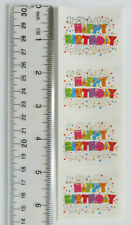 New listing Mrs Grossman Expressions Happy Birthday, Reflections - Strip of 4 Stickers