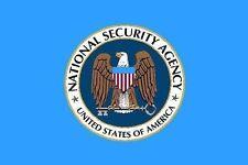 Aufkleber NSA Flagge Fahne 8 x 5 cm Autoaufkleber Sticker