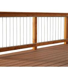 """Dolle Insta-Rail Vertical Stainless Steel Cable Railing Kit for 36"""" High Railing"""