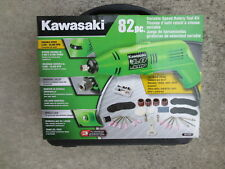Kawasaki 841223 Variable Speed Rotary Tool Set, 82-Piece in Fitted Case