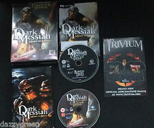DARK MESSIAH Might & Magic Collector Edition Pc DVD Rom Fully Complete