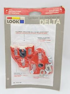 Delta Biking Cleats Match with All Road Pedals with Cleats NEW