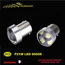 kit 2 p21w led 6 smd Blanc 6000k blanc 12v projecteur special feu de recul /