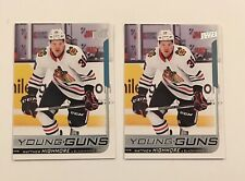 2018-19 Upper Deck Series 2 Young Guns Matthew Highmore Lot 2x RC