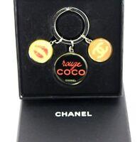 Auth Chanel Key Holder Coco Marco Women''s Key Ring Key Charm Novelty Gift Item