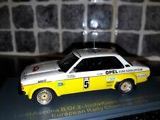 Opel Ascona B Grp 2 Jochi Kleint European Rally Champion 79 1/43rd Neo rare WRC