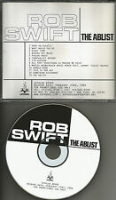 ROB SWIFT The Ablist RARE Special Pack SAMPLER ADVNCE PROMO DJ CD 1999 USA MINT