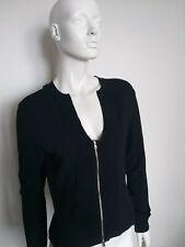 MARCCAIN women's long sleeve zip blouse / knit size N4