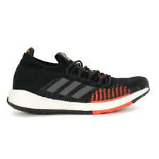 Adidas Men's PulseBoost HD Core Black/Grey/Red Running Shoes FU7333 NEW