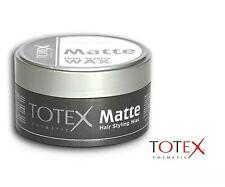 TOTEX HAIR STYLING WAX MATTE NATURAL MESS UP LOOK 150ML BLACK (1PCS OFFER)😳😳😳