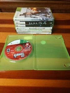 Xbox 360 7 Game Lot - Halo 4, Battlefield 4, Devil May Cry 4, assassin's Creed 3