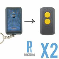 2 x Elsema Compatible Garage/Gate Remote Key301 27.145MHz FMT201/FMT301/FMT401