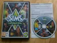 The Sims 3 Supernatural Expansion Pack PC Windows or MAC Halloween!