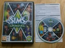 The Sims 3 Supernatural Extension Pack PC Windows or MAC MAC Halloween