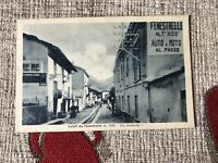 CARTOLINA SALUTI DA FENESTRELLE VIA UMBERTO I VIAGGIATA 1932 66