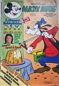 Walt Disneys Micky Maus Nr. 13 24.3.1984 (ehapa) Ohne Rubbelbilder Zustand: 3