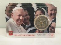 Coincard 50 Centimes Euro Vatican 2020 Numéro 11