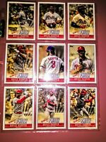"""2019 Topps Series Bryce Harper """"Welcome To Philly"""" 9 Card Collectible Insert Lot"""
