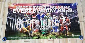 NFL Sunday Ticket Banner PATRICK MAHOMES DAK PRESCOTT ANDRE LUCK DirecTV