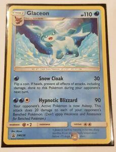 Pokemon TCG Black Star Promo - Glaceon SM238