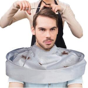 Barber Gown Cloth Hair Cut Cape Cover Umhang Friseursalon Catcher Hot