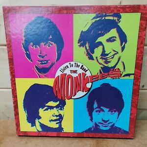The Monkees 'Listen to the Band The Monkees' 4 CD box-set + booklet