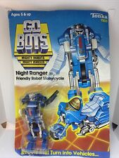 Nib Tonka 1984 Go Bots Night Ranger 30 Friendly Robot Motorcycle