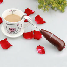Handheld Drinks Milk Frother Foamer Whisk Mixer Stirrer Egg Beater Coffee Mixed