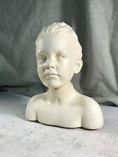 Plaster Model Bust Young Girls Head Silver Rain Studios Art Drawing Painting