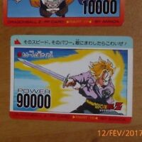 DRAGON BALL Z DBZ AMADA PP PART 15 CARD CARDDASS CARTE 655 MADE IN JAPAN **