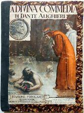DIVINA COMMEDIA DANTE ALIGHIERI ILLUSTRATA NERBINI 1933