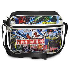 OFFICIAL THUNDERBIRDS COMIC STRIP PRINT MESSENGER/ SHOULDER BAG (BRAND NEW)