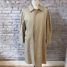 b39037db4ae Burberry London Men s Trench Coat Classic Khaki Raglan Sleeve M