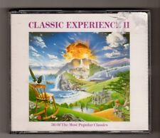 (HX767) Classic Experience II, 36 tracks various artists - 1990 CD set