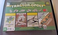 John Deere Game Tractor-Opoly Board Game New Sealed