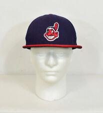 Men's New Era Cleveland Indians Ricamato Festival Cappello Da Baseball Taglia 7 1/8