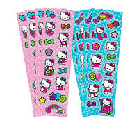 HELLO KITTY PARTY SUPPLIES STICKER STRIPS PACK OF 8 RAINBOW GENUINE