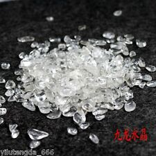 100% Tibet Natural Clear QUARTZ Crystal Healing Terminated Wand Specimen 50g seP