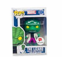 Funko Pop! vinyl toy figure box pop spider-man marvel 334 The Lizard walgreens