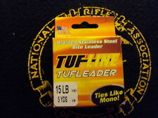 Tuf Line Tufleader Braided Stainless Steel Bite Leader 15lbs