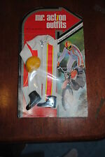 """MR ACTION MAN  LJN TOYS 1970   OUTFIT """"MOTOR CROSS """" MIP"""