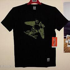 NO FEAR Rules MX T-Shirt Skull Freestyle KTM KX-F CR-F MTB Ufo Cross Quad NEU M