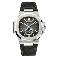 Patek Philippe 5726a Nautilus Annual Calendar Moonphase Complication Steel RARE