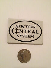 "NEW ""New York Central"" Porcelain on Steel MAGNET Ande Rooney Discontinued!"
