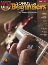 Canciones Para Principiantes Guitarra Play-a lo largo de Vol 101 Tab Libro/CD Green Day Beatles