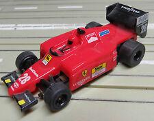 für H0 Slotcar Racing Modellbahn -- Formel 1 Ferrari F-188 mit Tomy Motor