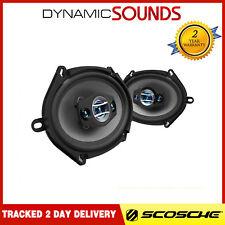 "Scosche HD57684 5 x 7"" / 6 x 8"" 400W  4way Car Speakers Set  200w Per Speaker"